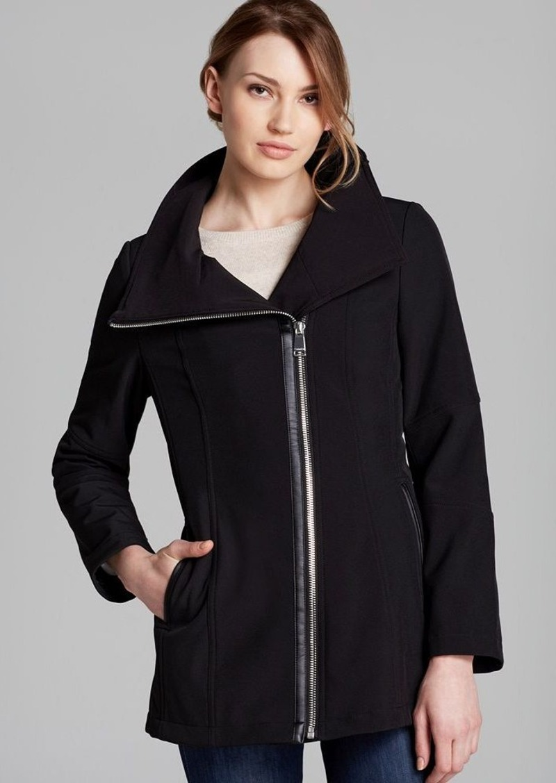 Calvin Klein Coat - Asymmetric Zip
