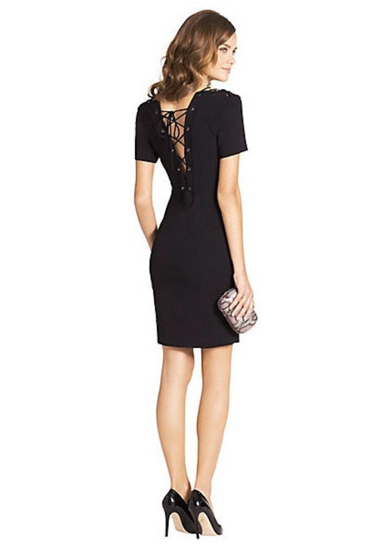 Diane Von Furstenberg Lily Corset Detail Dress