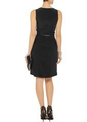 MICHAEL Michael Kors Belted silk-crepe dress