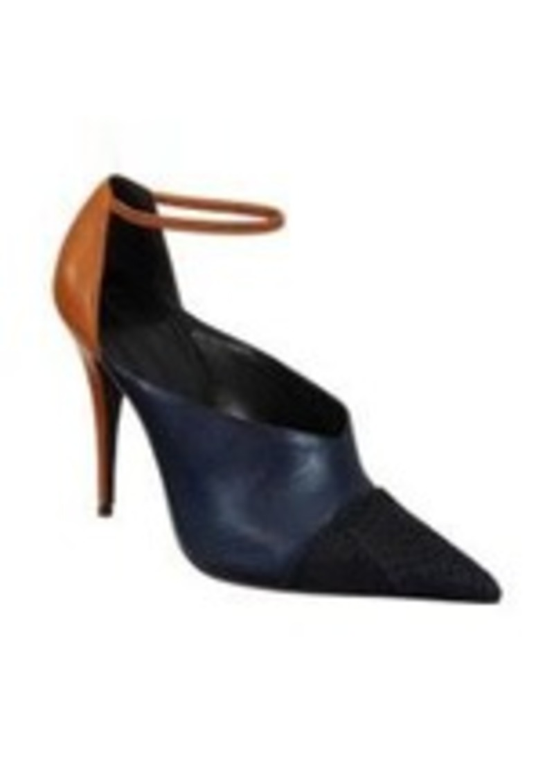 Narciso Rodriguez High-Cut Ankle Strap Pump