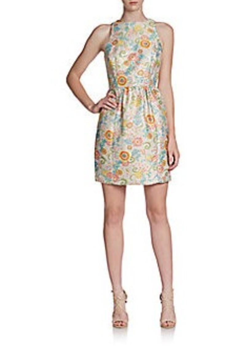Cynthia Steffe Ashlynn Floral Fit-And-Flare Dress