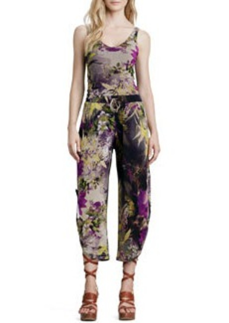 Jean Paul Gaultier Winter Floral-Print Pants   Winter Floral-Print Pants