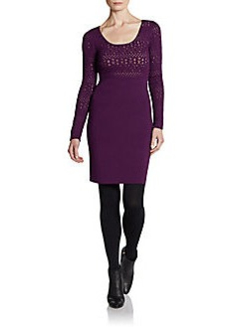 Catherine Malandrino Afton Pointelle Dress