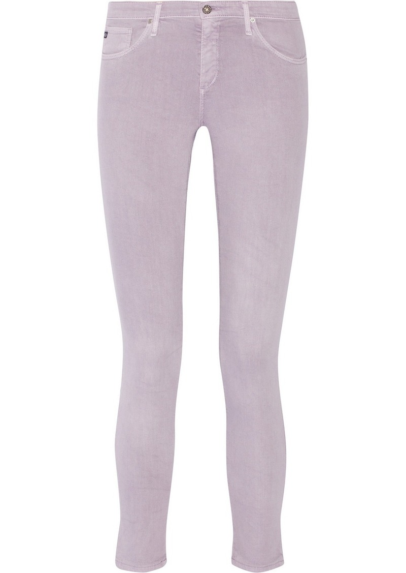 AG Adriano Goldschmied AG Jeans The Legging Ankle mid-rise skinny jeans