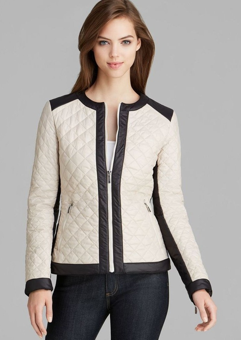 Laundry by Shelli Segal Jacket - Lightweight Puffer Power Stretch