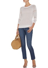 AG Adriano Goldschmied AG Jeans The Legging Ankle paisley-print jeans