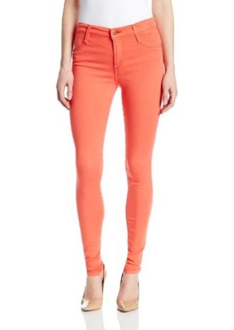 James Jeans Women's J Twiggy Faux Front Pocket Legging Jean