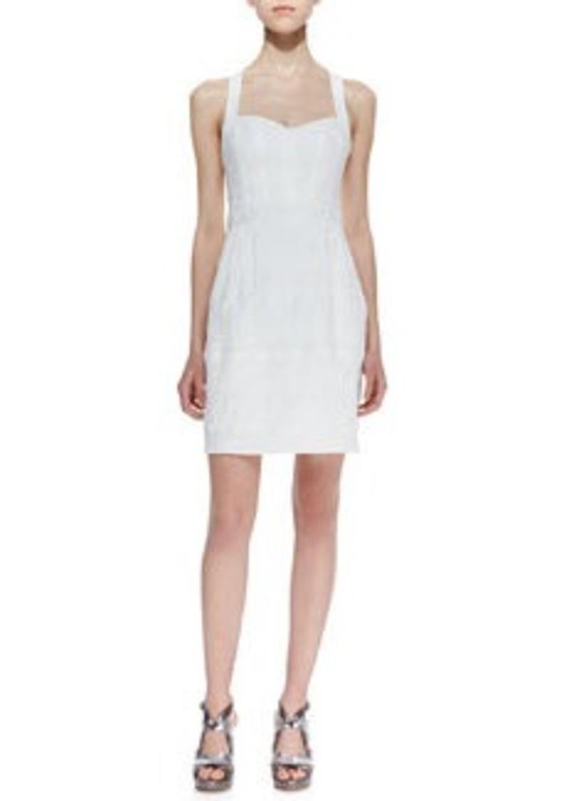 Nanette Lepore Sizzling Sweetheart-Neck Sleeveless Dress   Sizzling Sweetheart-Neck Sleeveless Dress