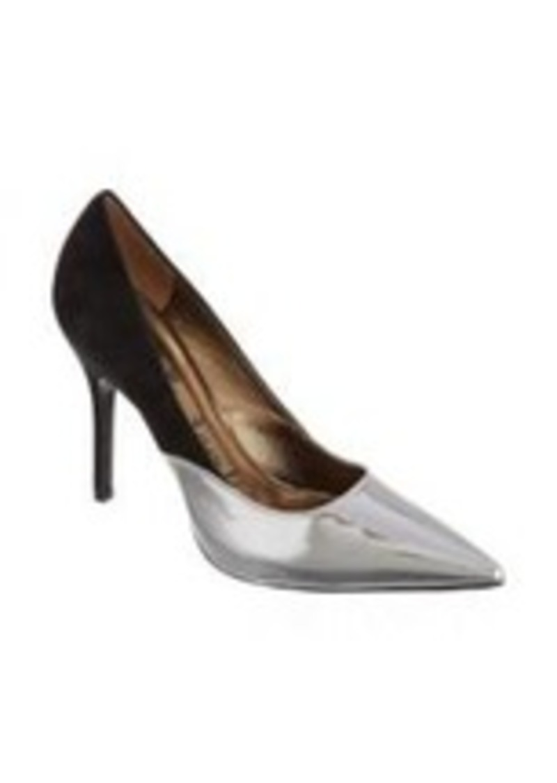 Lanvin Combo Pointed Toe Pump