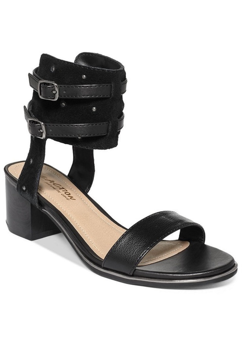 Kenneth Cole Reaction Slaughter Two Piece Block Heel Sandals