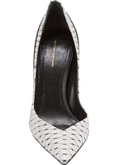 Narciso Rodriguez Python-Print Two-Tone Pumps