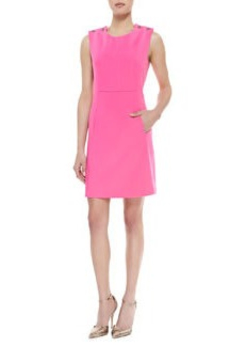 Shoshanna Sleeveless Shift Dress, Bubblegum