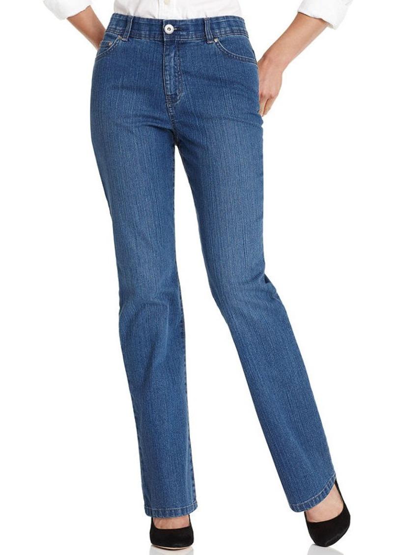 Charter Club Petite Jeans, Comfort Waist Straight Leg