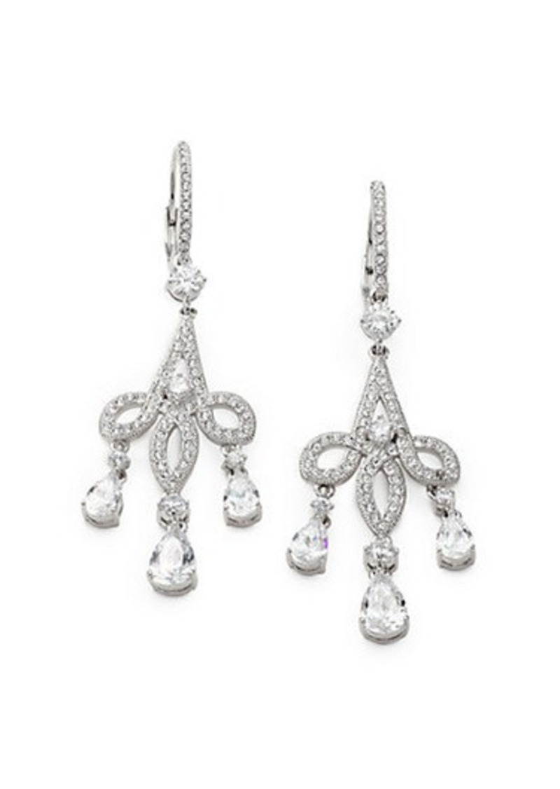 Adriana Orsini Pavé Crystal Chandelier Earrings