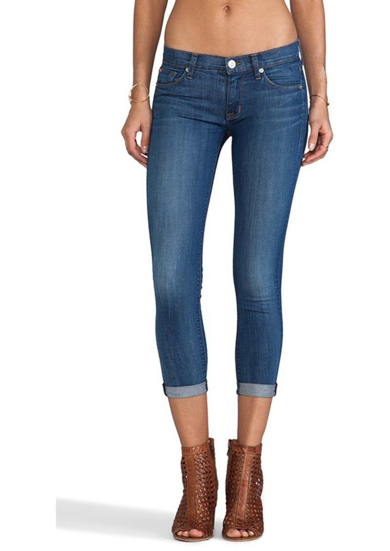 Hudson Jeans Harkin Crop in Stepping Stone