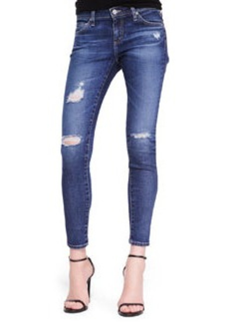 AG Adriano Goldschmied Skinny Distressed Ankle Jeans, 11 Years Swapmeet (Stylist Pick!)