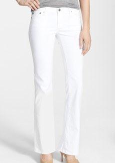 AG 'Angelina' Bootcut Jeans (Petite) (White)