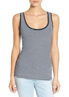 AG 'Indigo Capsule Collection - Iso' Stripe Knit Tank