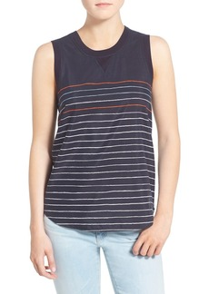 AG 'Sky' Silk & Cotton Tank