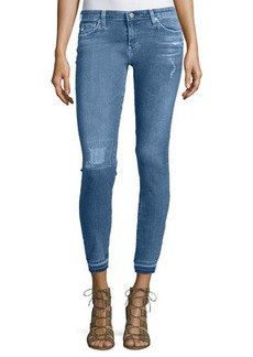 AG The Legging Distressed Ankle Jeans