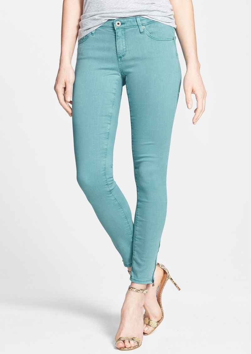 AG Adriano Goldschmied AG Zip Cuff Ankle Skinny Jeans
