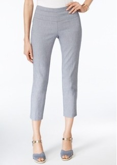 Alfani Faux Denim Capri Pants, Only at Macy's