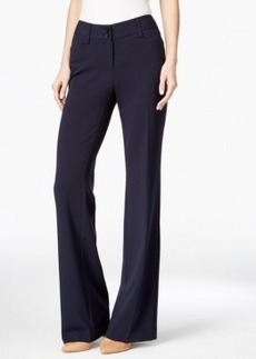 Alfani Flared Bootcut Trousers, Only at Macy's