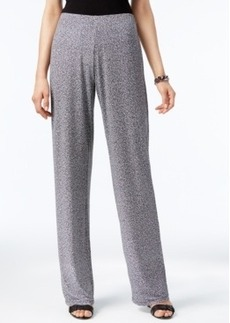 Alfani Petite Wide-Leg Knit Dress Pants, Only at Macy's