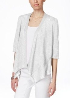Alfani Linen-Blend Open-Front Cardigan, Only at Macy's