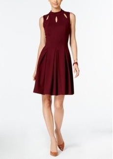 Alfani Mock-Neck A-Line Dress, Only at Macy's