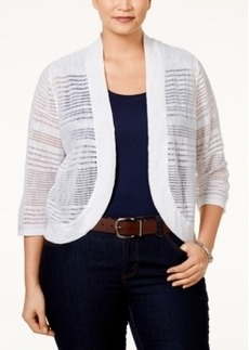 Alfani Plus Size Bolero Cardigan, Only at Macy's