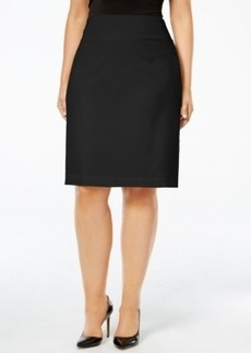 Alfani Plus Size Classic Pencil Skirt