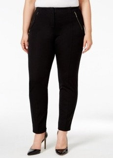 Alfani Plus Size Comfort-Waist Ankle Pants, Only at Macy's