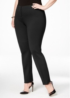 Alfani Plus Size Comfort-Waist Skinny Pants, Only at Macy's