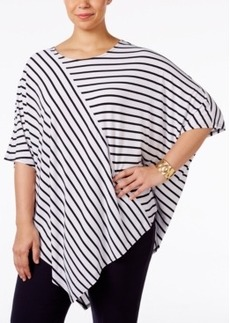 Alfani Plus Size Poncho Top, Only at Macy's