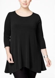 Alfani Plus Size Swing Top, Only at Macy's