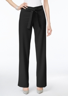 Alfani Prima Belted Wide-Leg Pants, Only at Macy's