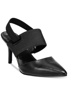 Alfani Prima Jolum Pointed-Toe Slingback Pumps, Only at Macy's Women's Shoes
