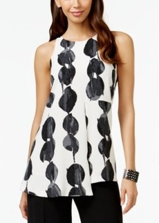 Alfani Prima Printed Double-Layer Top, Only at Macy's