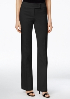 Alfani Prima Extended-Tab Straight-Leg Trousers, Only at Macy's