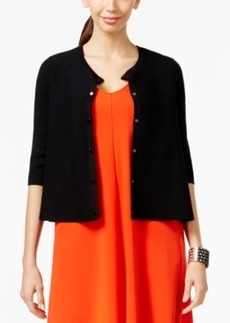 Alfani Prima Three-Quarter Sleeve Cardigan, Only at Macy's