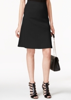 Alfani Prima Zip-Pocket A-Line Skirt, Only at Macy's