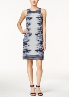 Alfani Printed Shift Dress, Only at Macy's