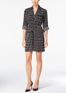 Alfani Printed Shirtdress, Only at Macy's