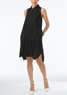 Alfani Sleeveless Swing Shirtdress, Only at Macy's