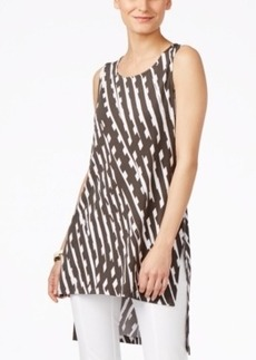 Alfani Sleeveless High-Low Tunic, Only at Macy's