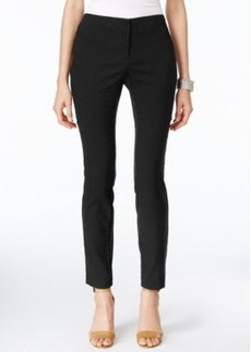 Alfani Snakeskin-Print Skinny Ankle Pants, Only at Macy's