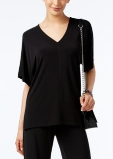 Alfani V-Neck High-Low Top, Only at Macy's