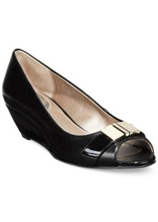 Alfani Women's Step 'N Flex Chorde Wedge Pumps, Only at Macy's Women's Shoes