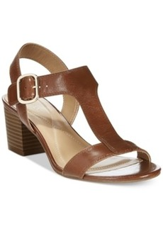 Alfani Women's Yullia T-Strap Sandals, Only at Macy's Women's Shoes